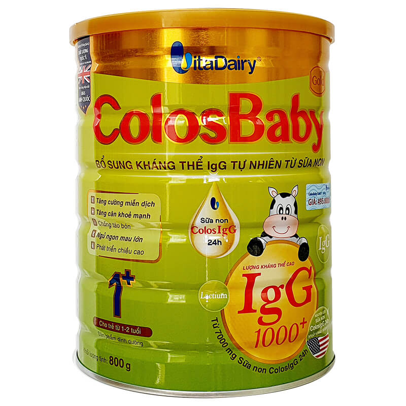 Sữa Colosbaby 1+ Gold 800g