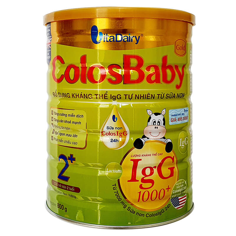Sữa Colosbaby 2+ Gold 800g
